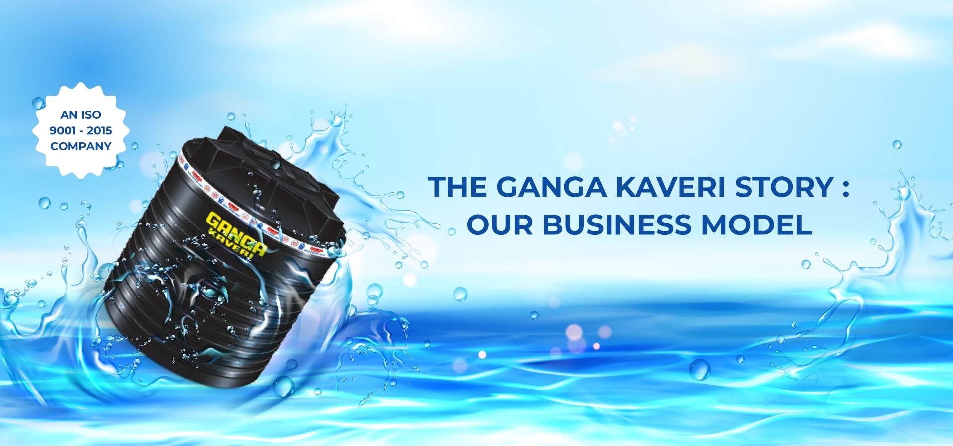 About gangakaveri water tank business model